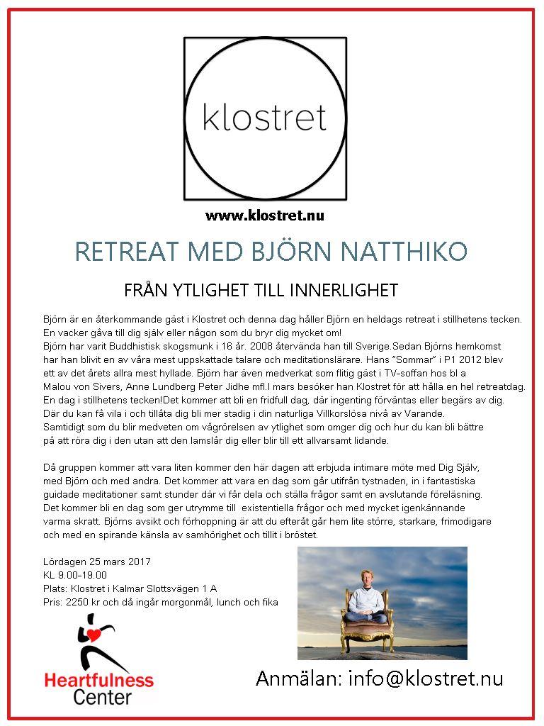 Retreat med Björn Natthiko