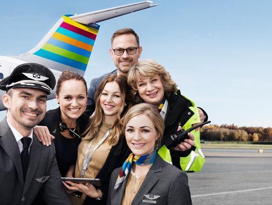 Göteborg - Östersund by air