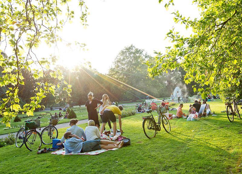 Stadsparken i Lund