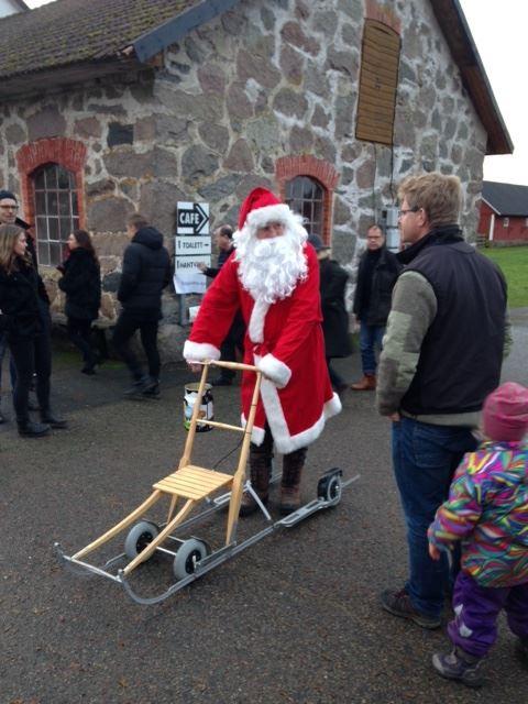 Julmarknad på Bergkvara Gård