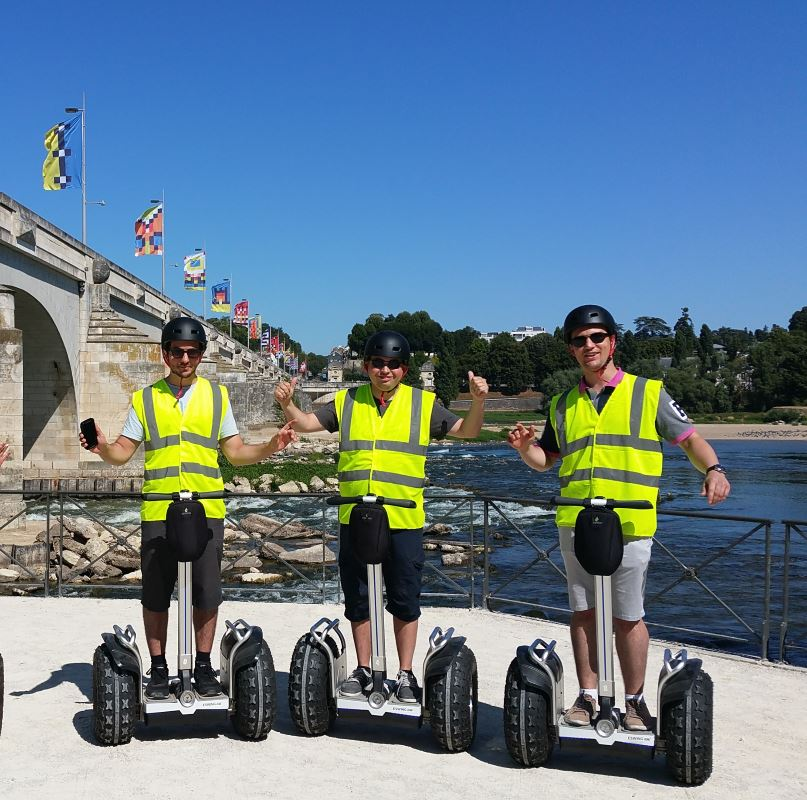 All-terrain « Gyropode » tours in Tours.