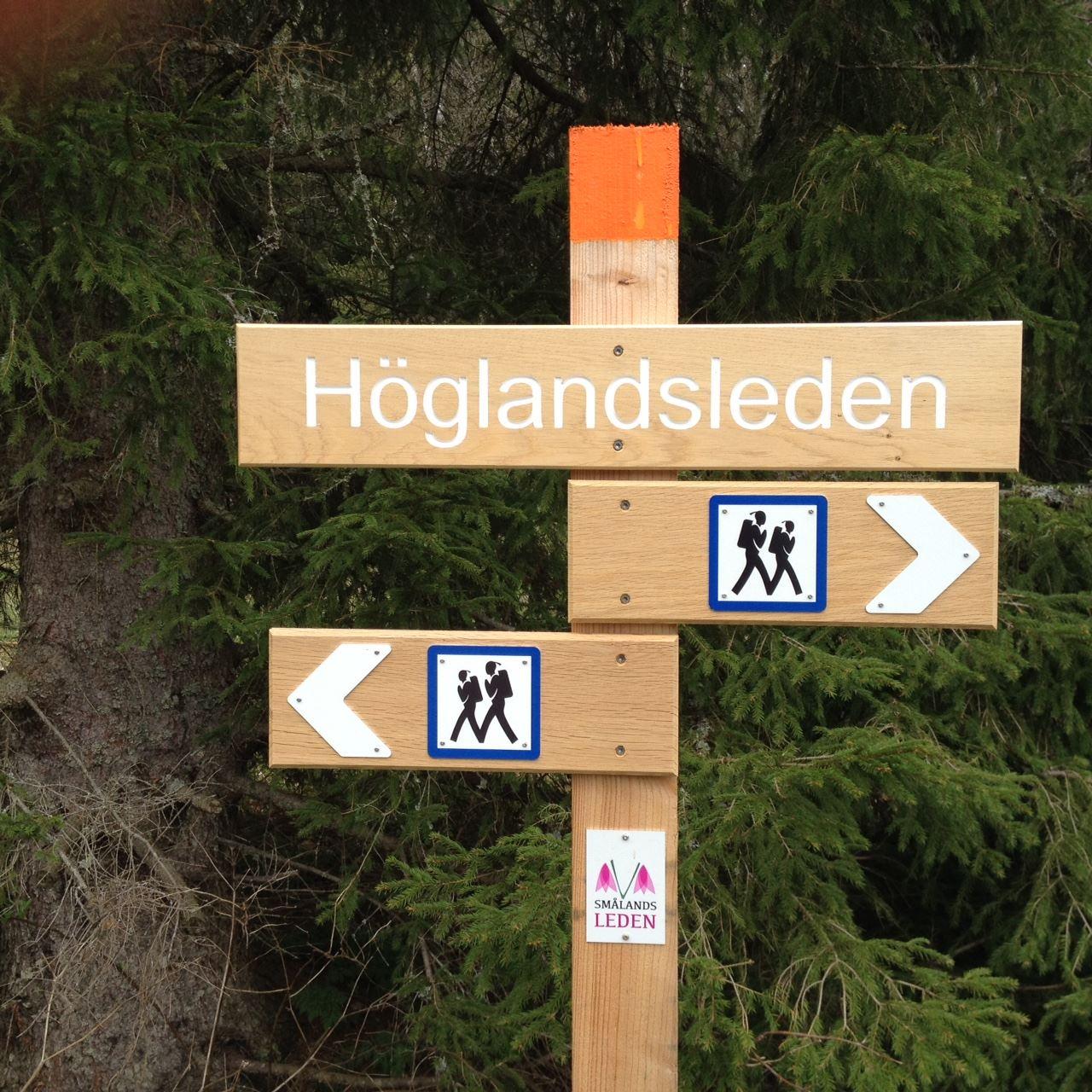 Höglandsleden, en del av Smålandsleden