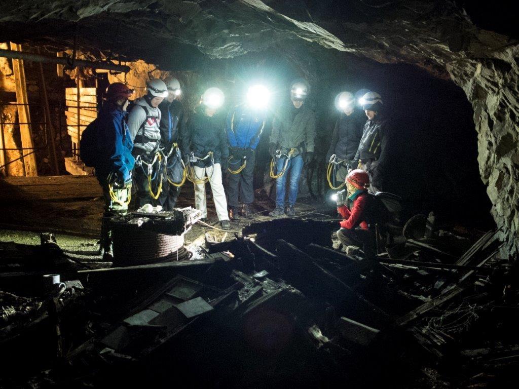 Adventure mine Tuna Hästberg, Borlänge