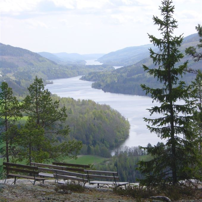 Vy från Vättaberget