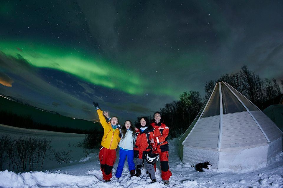 24-hour Aurora Expedition in the Beautiful Lyngen Alps