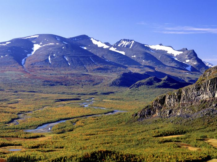 Lappland - Sarek sommar