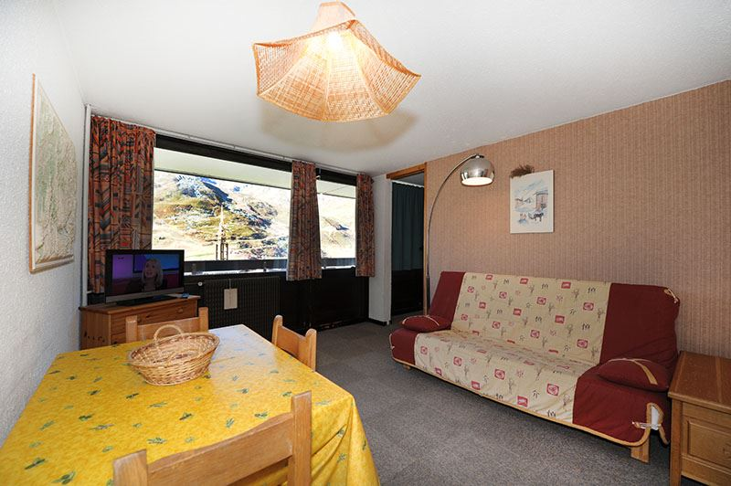 2 Rooms 5 Pers ski-in ski-out / ARAVIS 519
