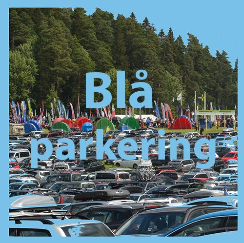 Blue parking at the arena stage 5