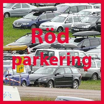 Red parking at the arena stage 4