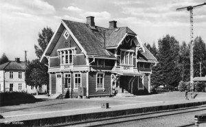 Stationshuset i Bor, Stationshuset i Bor