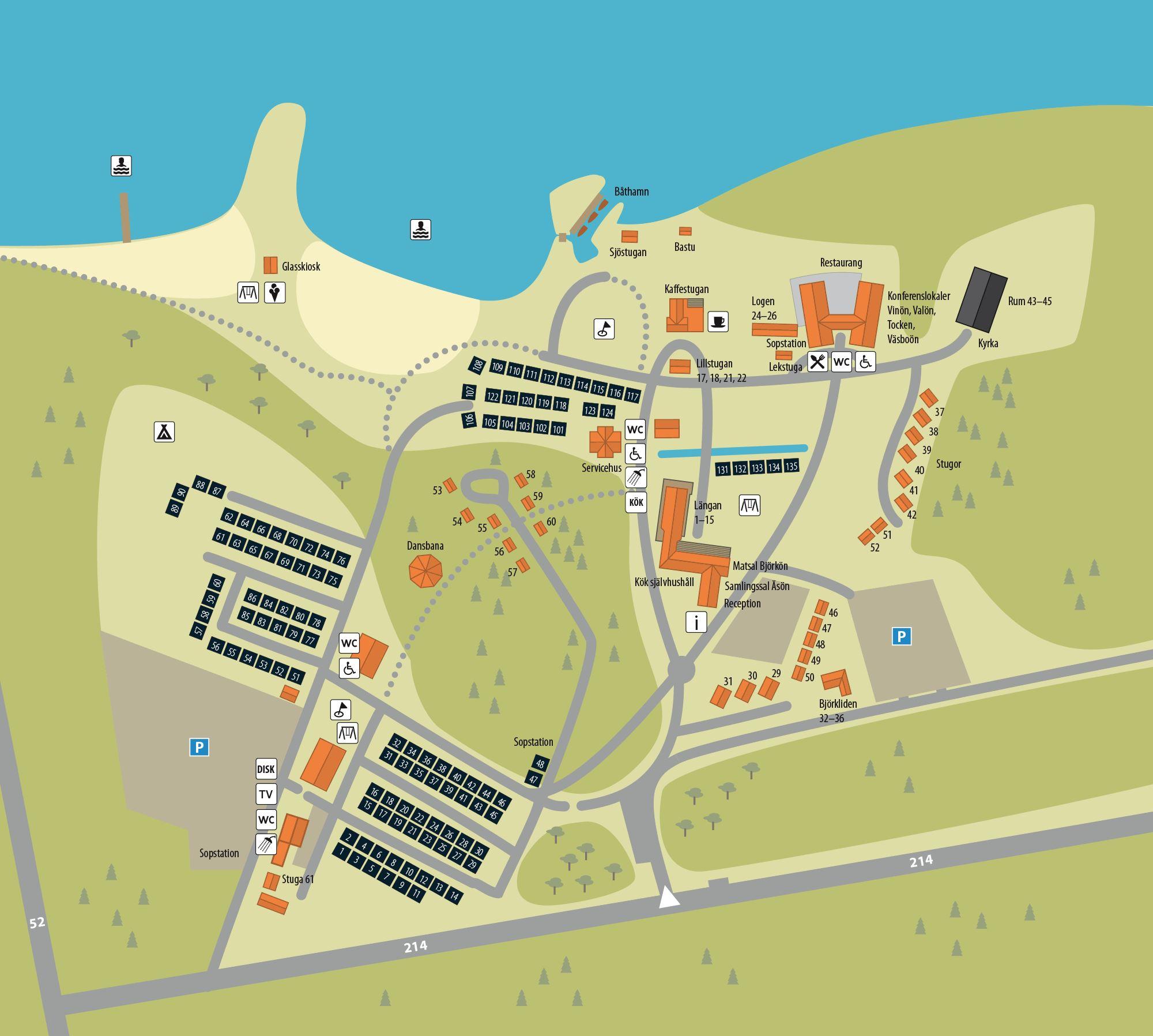 Hjälmargården & Läppe Camping/Camping