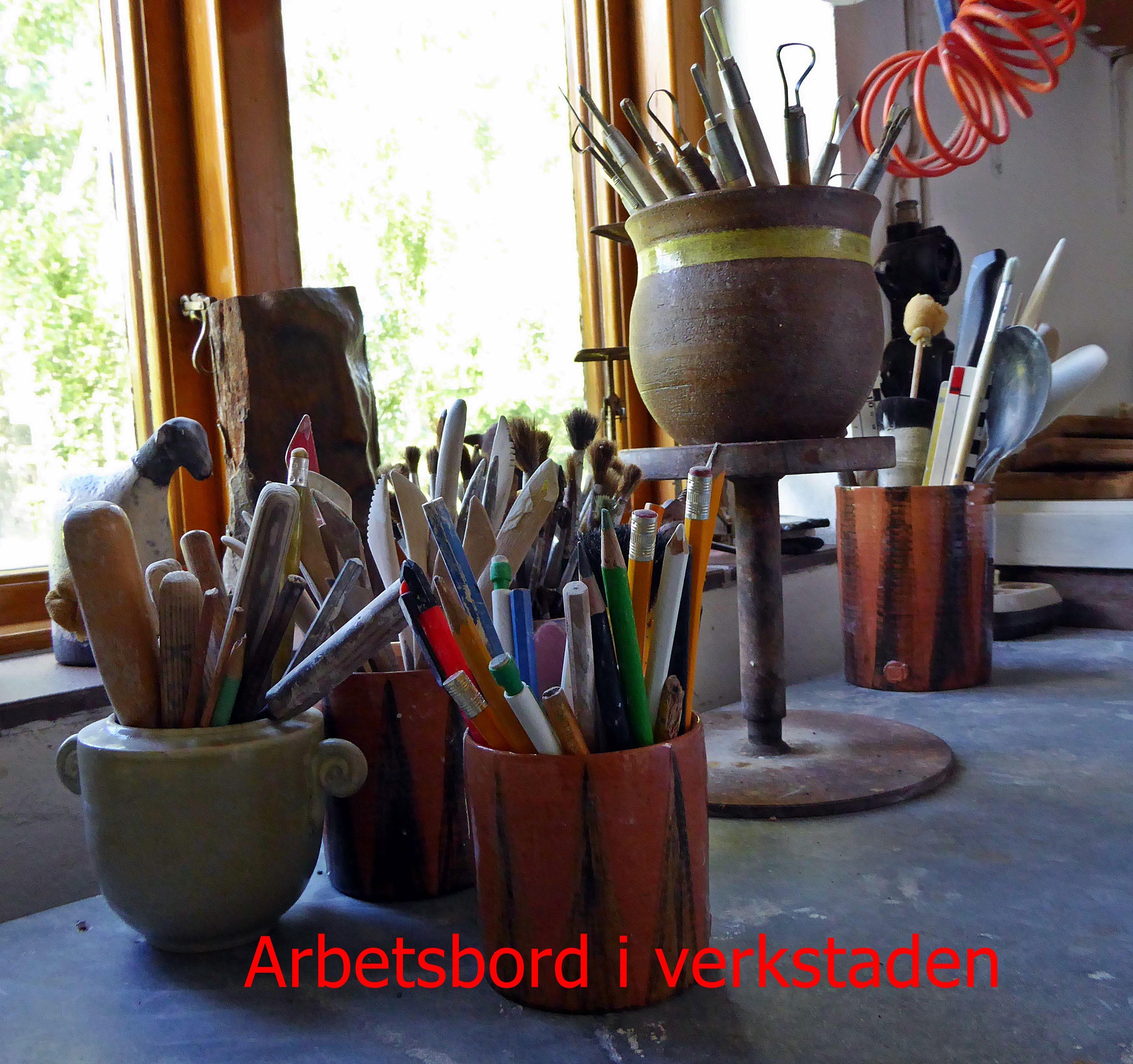 Foto: Kerstin Olsson, Keramikern Kerstin Olsson