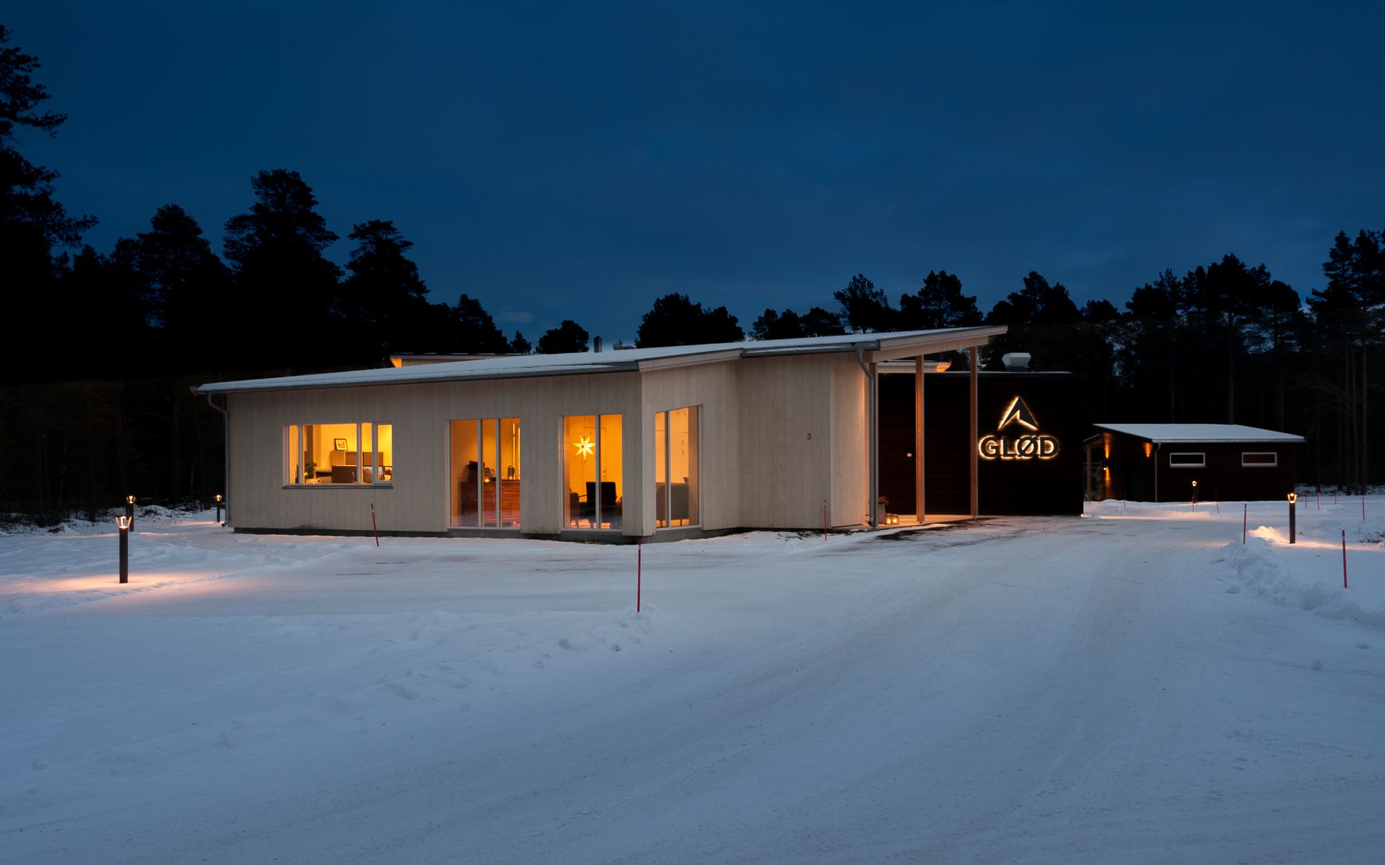 GLØD Bed & Breakfast – The Pine Forest Apartment