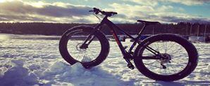 Fatbike kierros Vesijärven jäällä | Fenix Ohjelmapalvelut