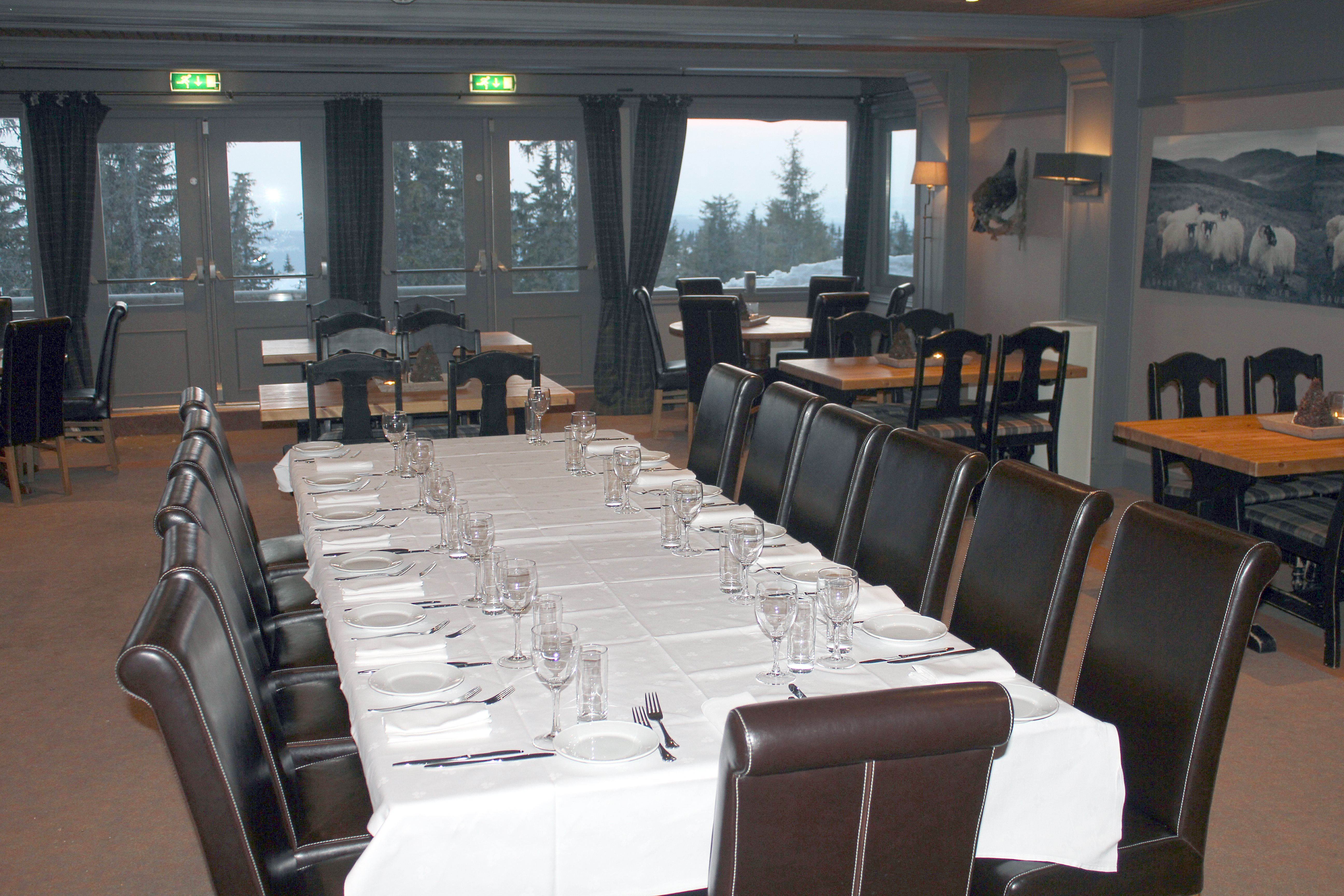 Menu for your party on Gaiastova Restaurant in Hafjell