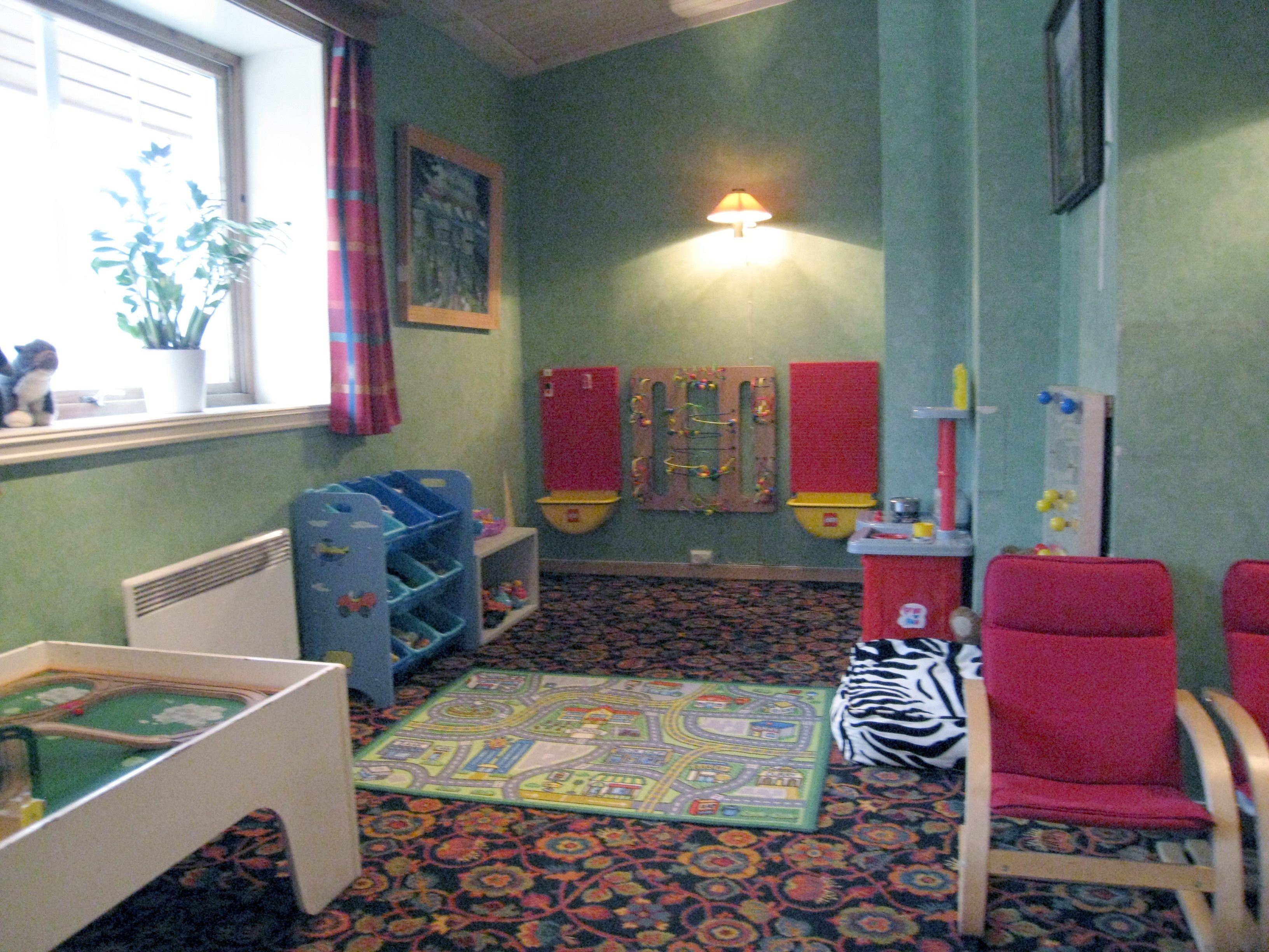 Separate play area for younger children at Hafjell Hotel