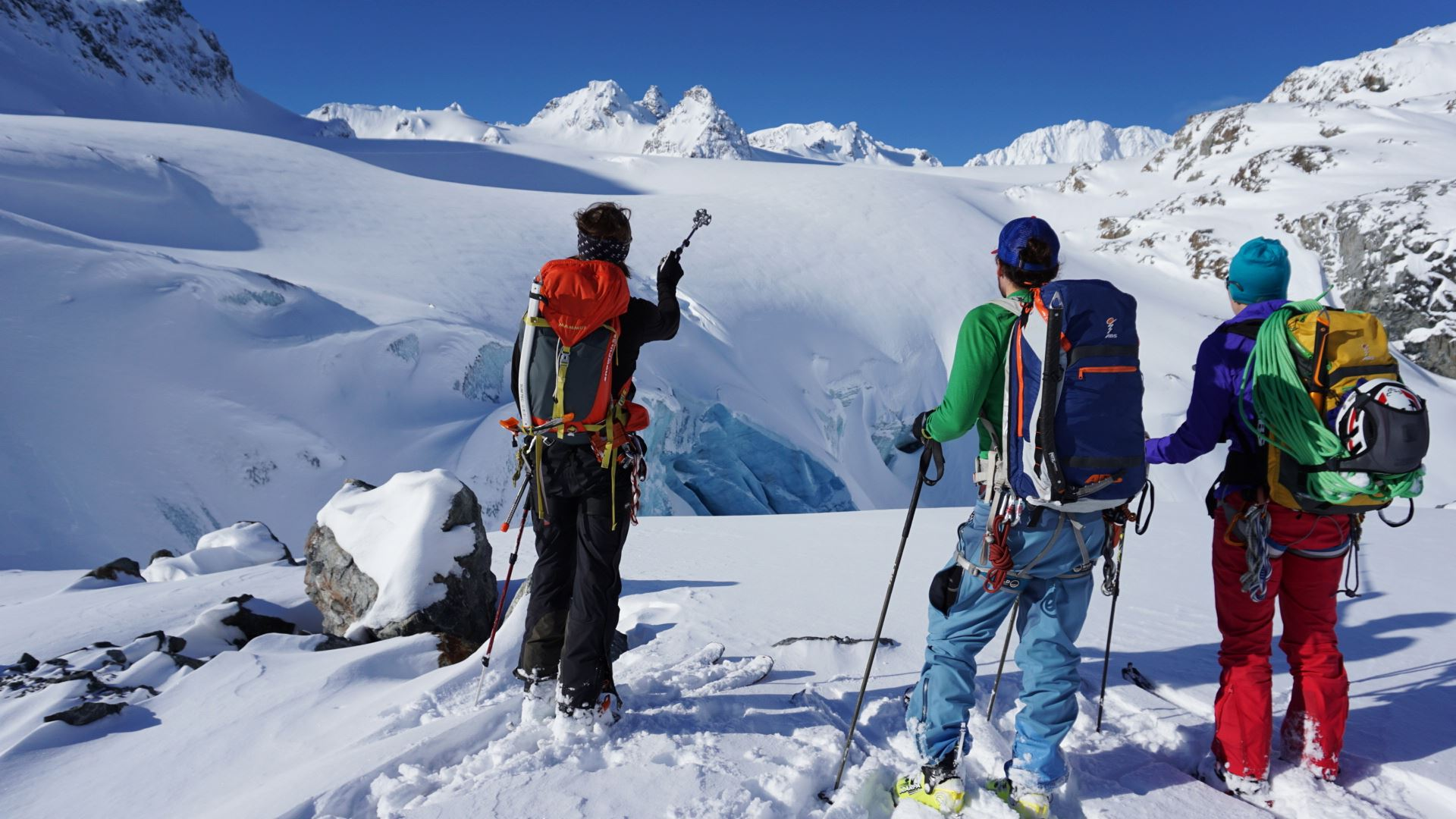 © Lyngen Adventure, Skitouring in Lyngen