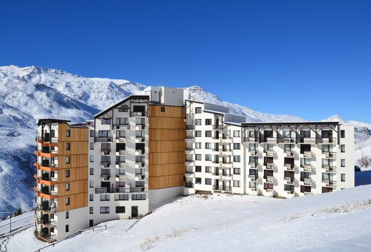3 Pers Studio 150m from the slopes / MEDIAN 107