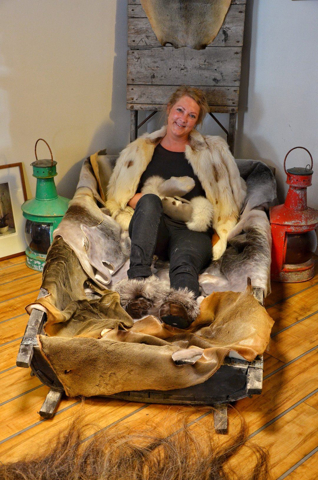 Polar Adventures Gift Shop Fur and Lleather