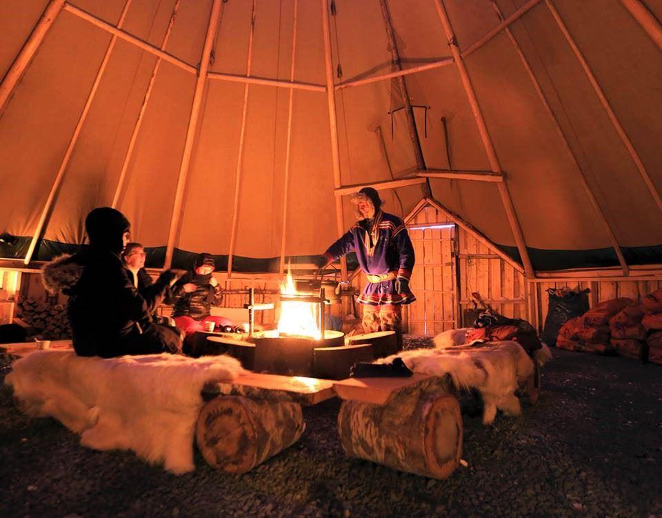 Reindeer Camp Dinner with Chance of Northern Lights - Tromsø Arctic Reindeer