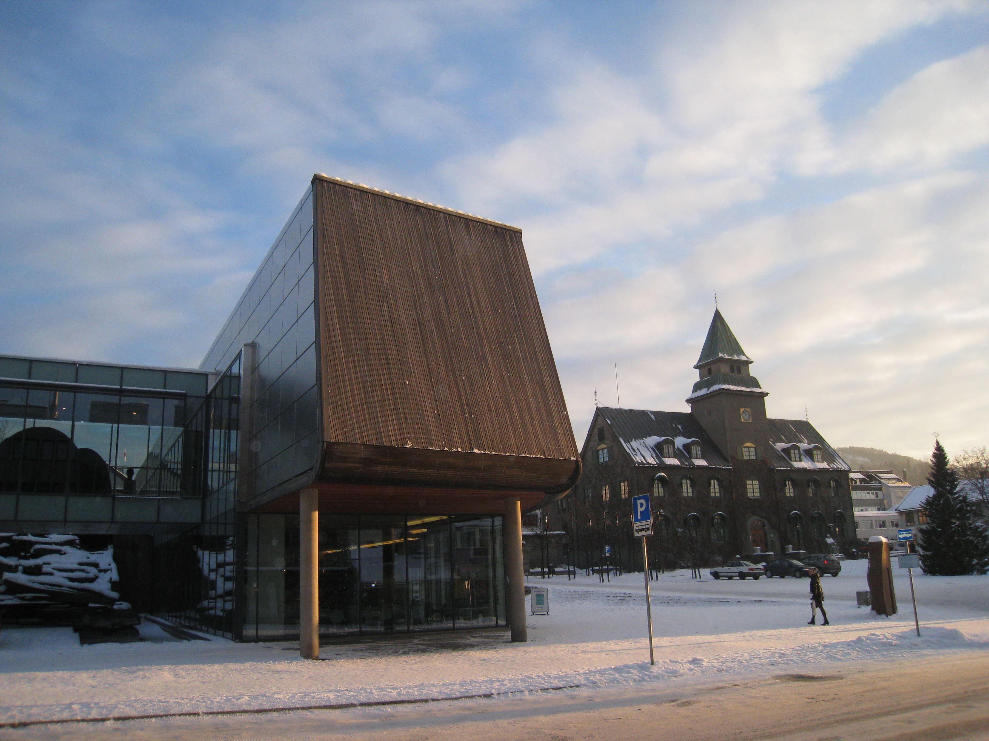 Lillehammer art museum in Norway
