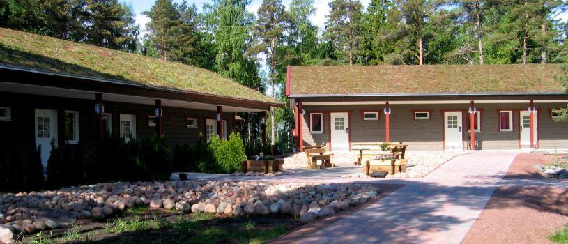 Sandösund Resort, hotellihuoneet