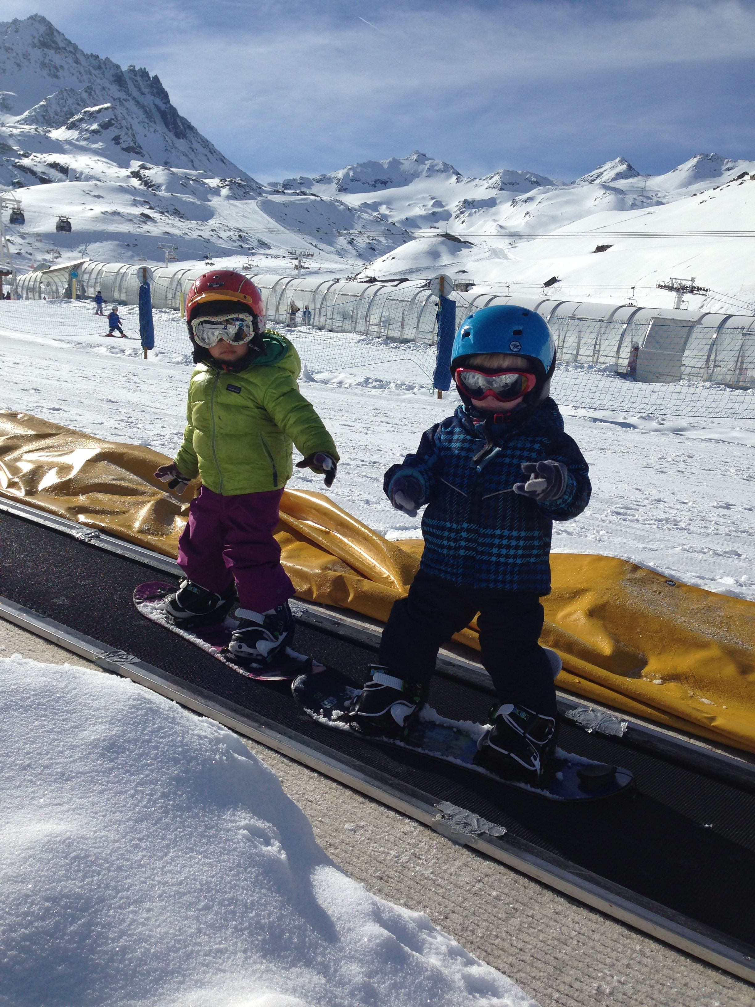 Group Ski Lessons, mini riders 3-5 years, 1 x 1h