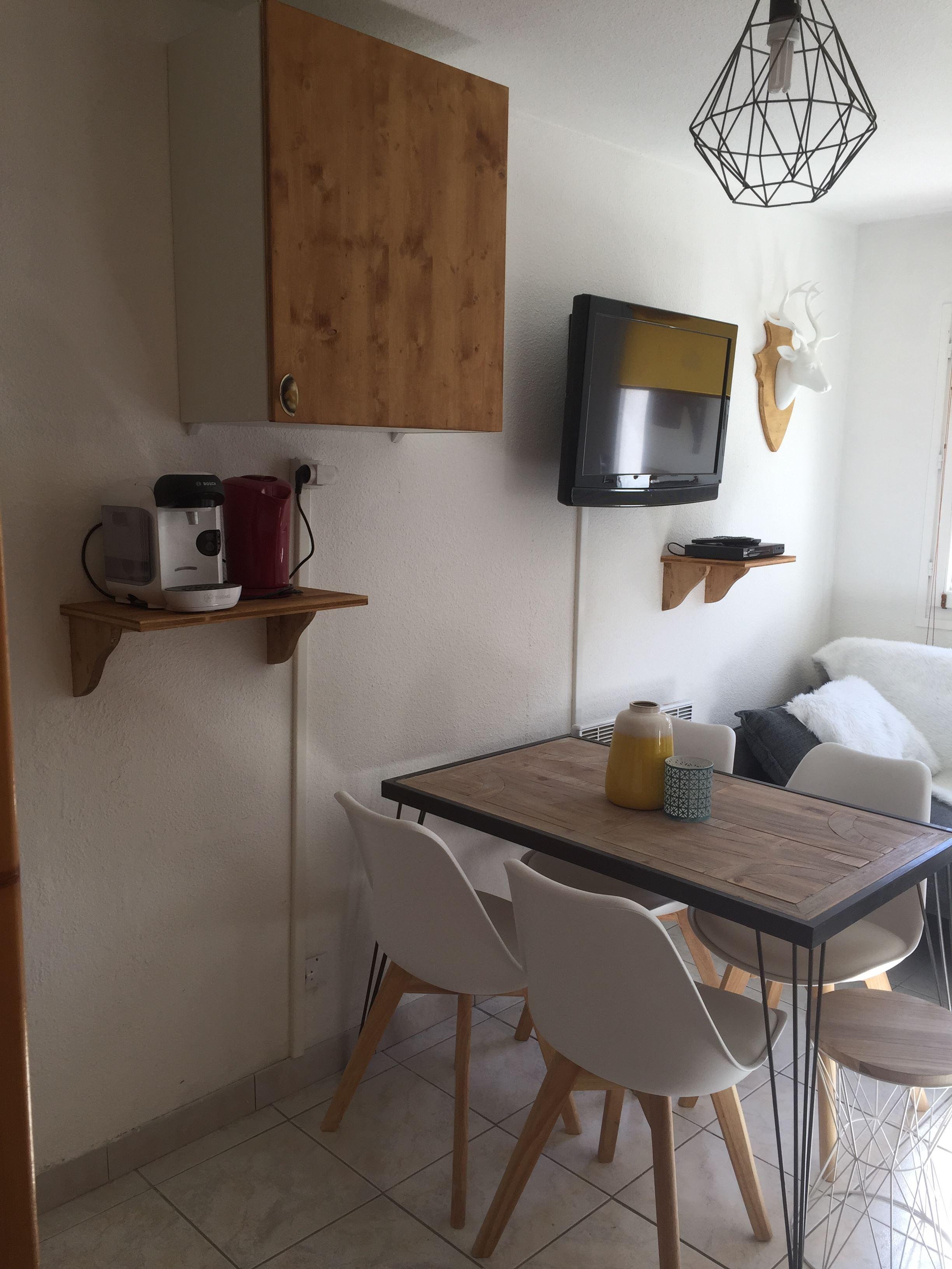 Lauzières 004 > 2 rooms + cabin - 4 Persons - 2 Silver Snowflakes