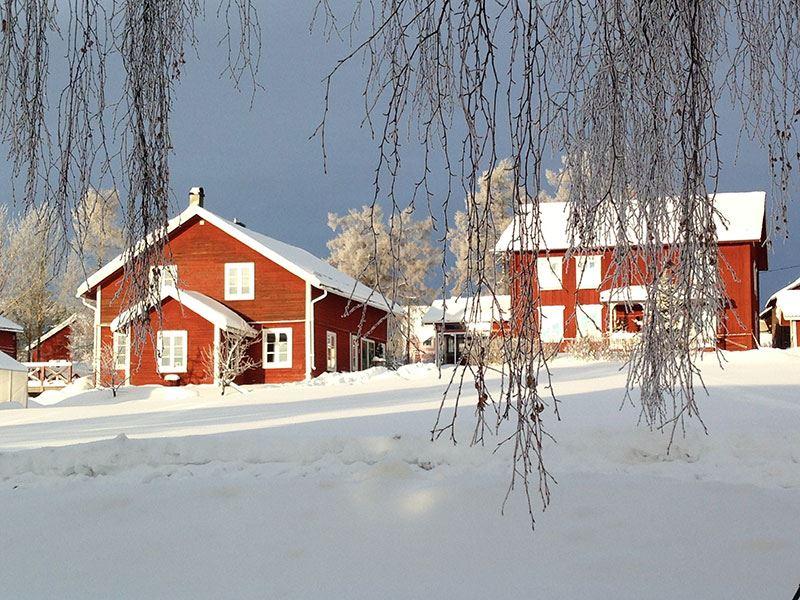 Foto: Framgården,  © Copy: Visit Östersund, Framgården boende i vintermiljö