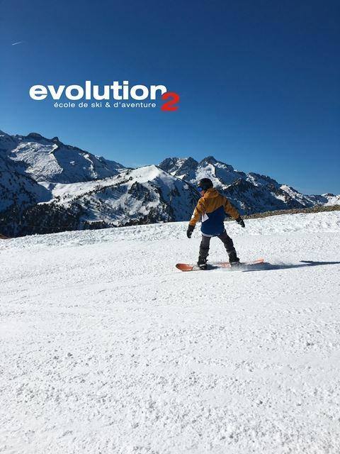 COURS DE SKI/SNOWBOARD EVOLUTION 2
