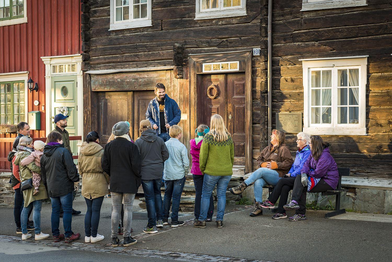 Rørosmuseet - Bergstadvandring - guidet tour