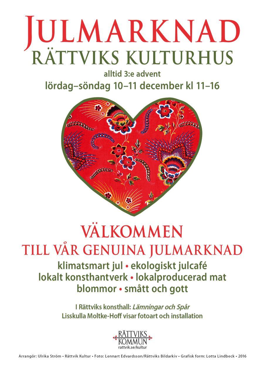 Klimatsmart julmarknad, Rättviks Kulturhus