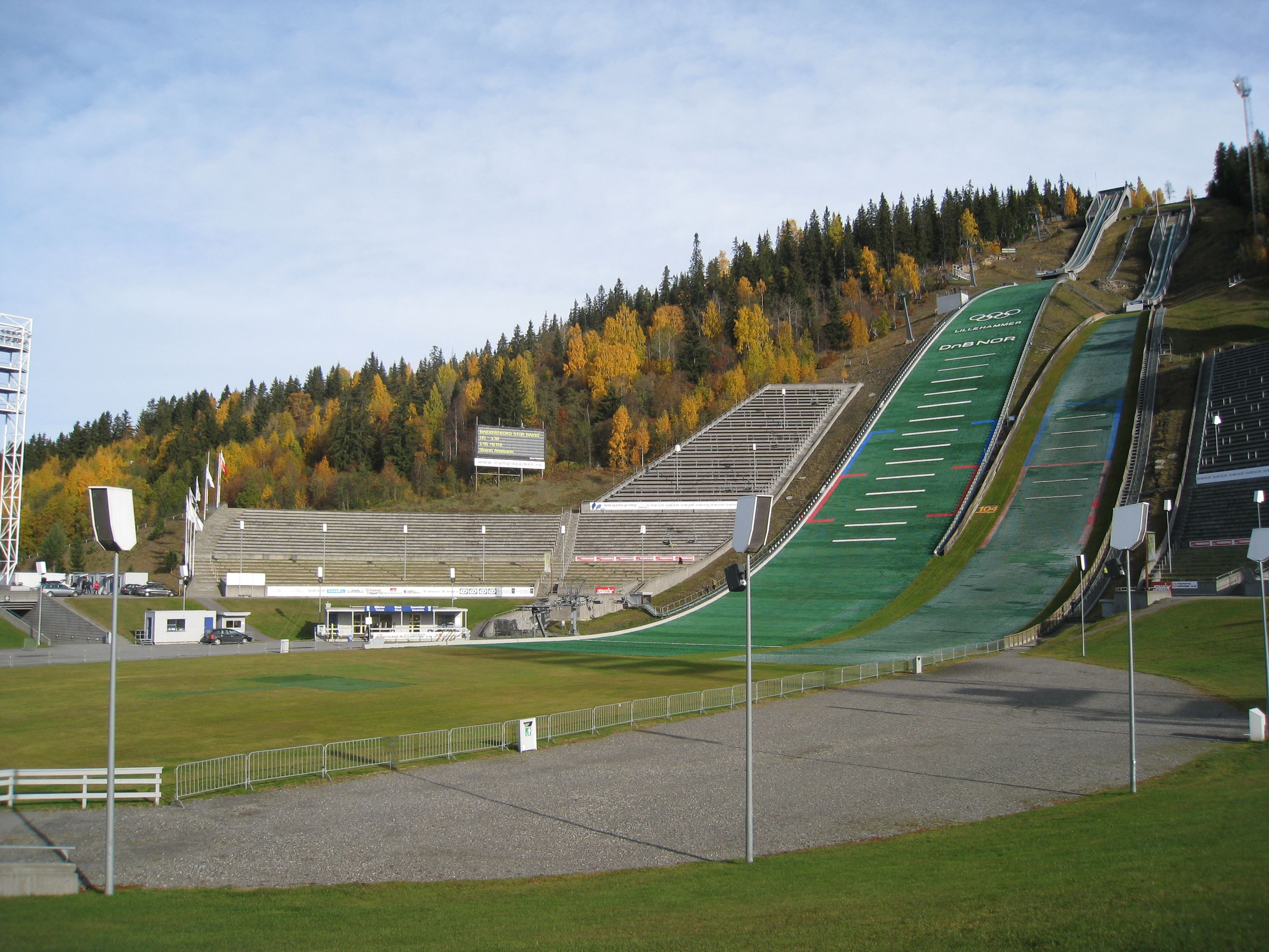Group tours to Hafjell and Lillehammer