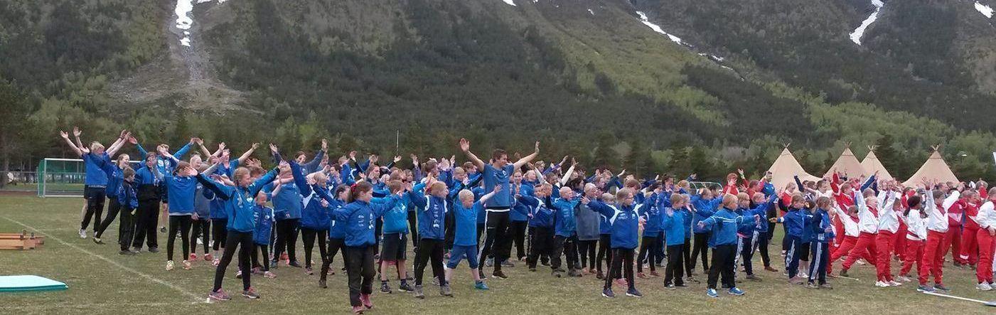 Barnekretsturnstevnet på  Tretten 10. - 11. juni  2017