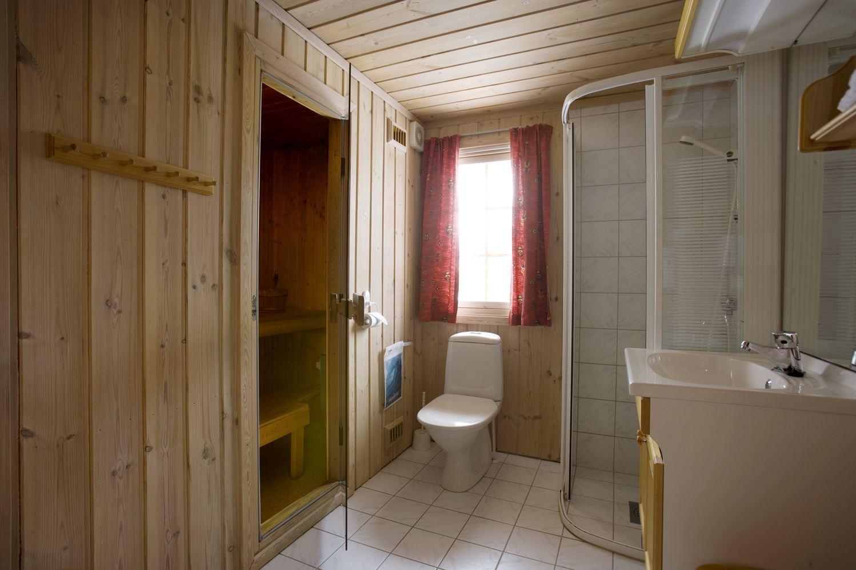 Standardbad 10sengs og 12sengs hytte