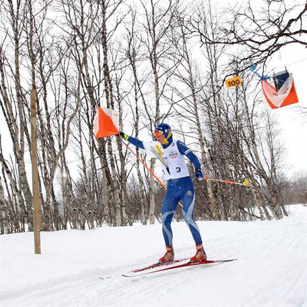 Foto: Nordiska ungdomsspelen,  © Copy: Visit Östersund, Skidorientering