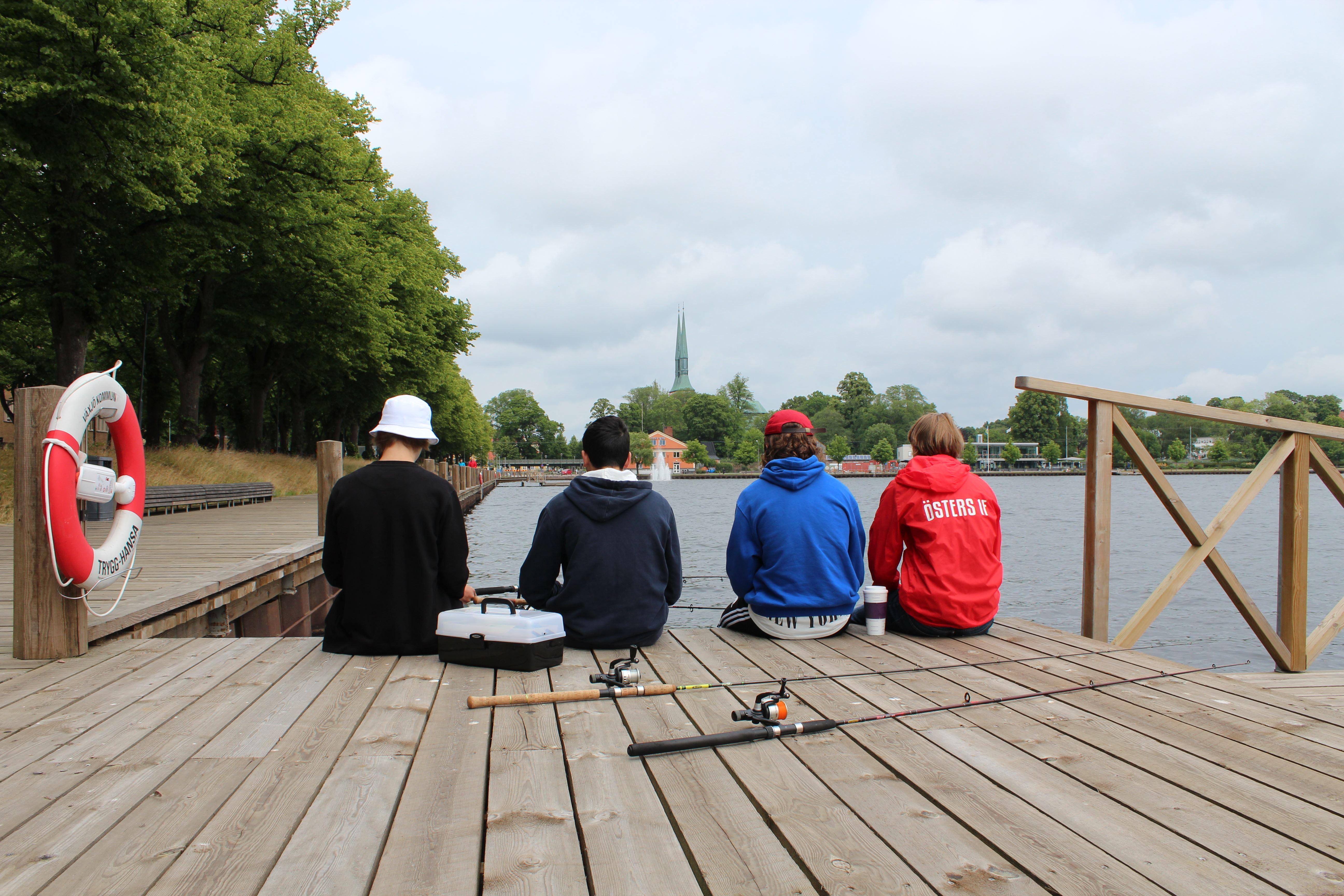 Cornelia Johansson, Angelkarten und Regeln für das Angeln in den Växjöseen