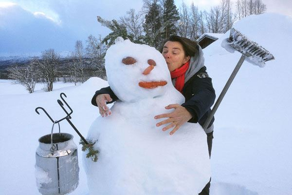 Snowman - Bo på Rundhaug Gjestegård – Destination Snowman