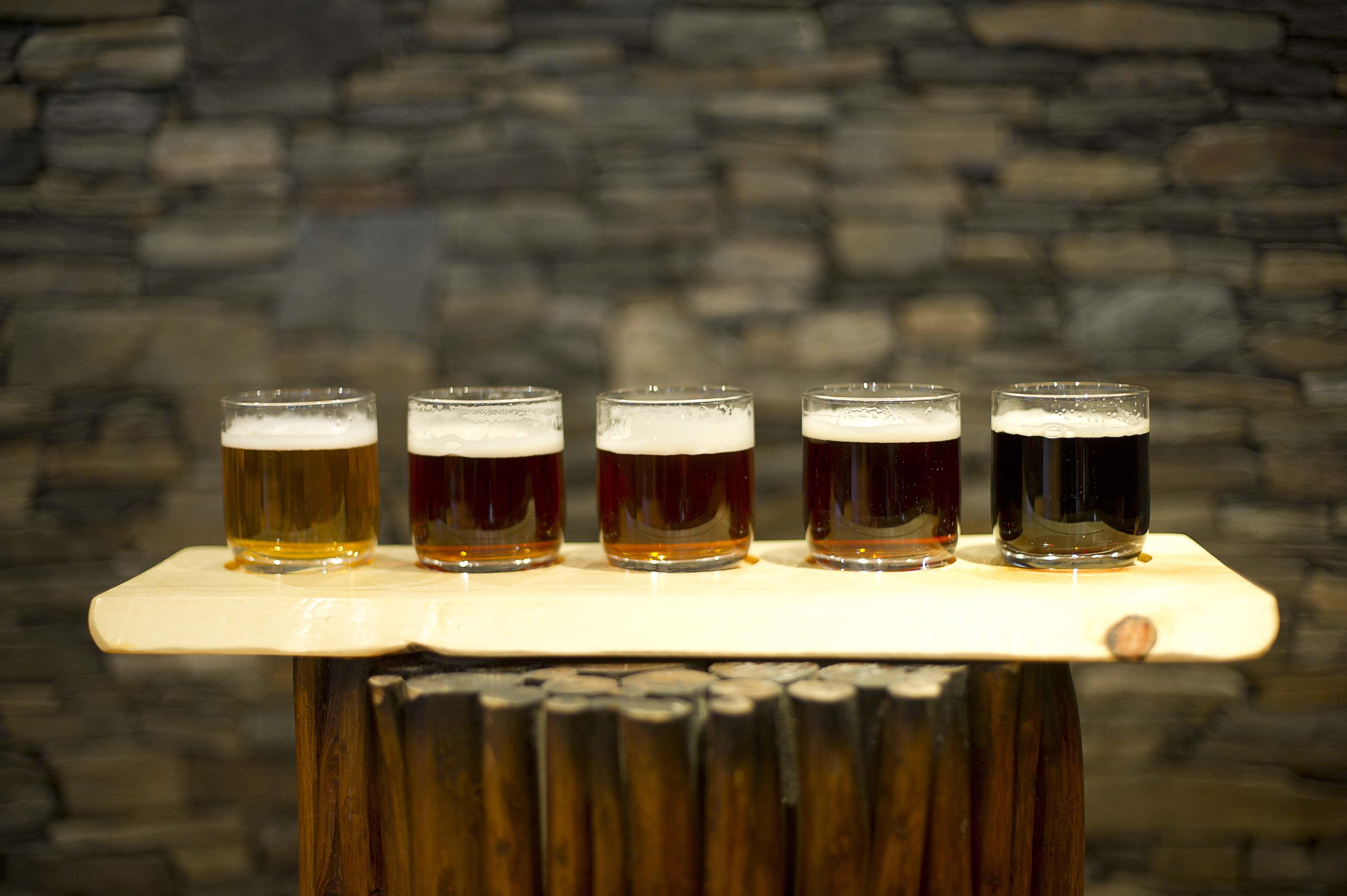 Presentasjon og ølsmaking