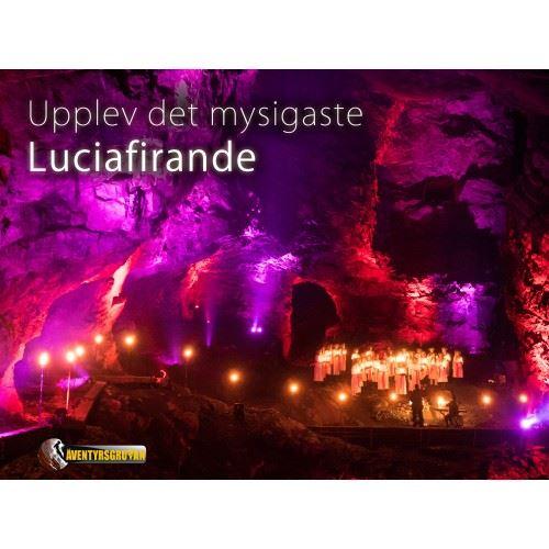 Luciakonsert i Äventyrsgruvan