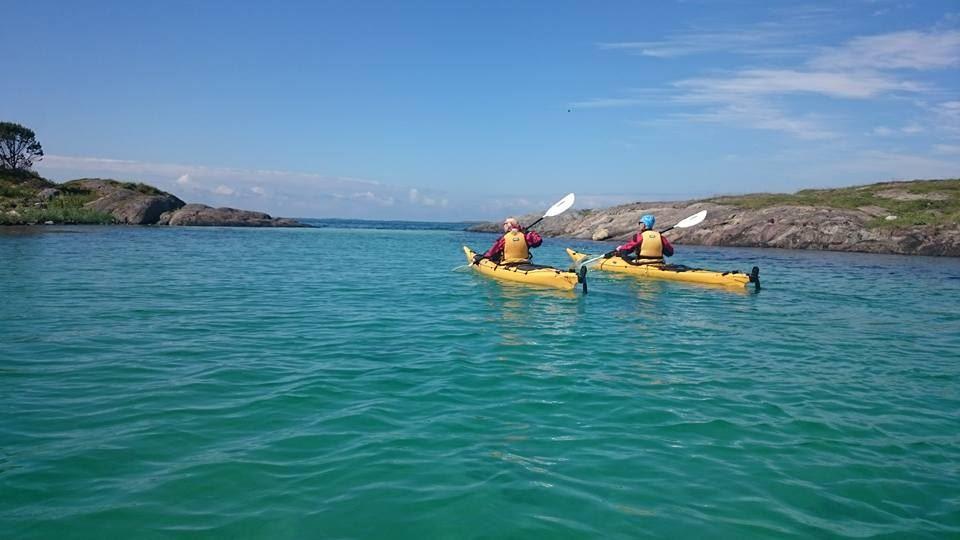 3-dagers guidet havpadletur med Basecamp Brasøy, Helgelandskysten 2017.