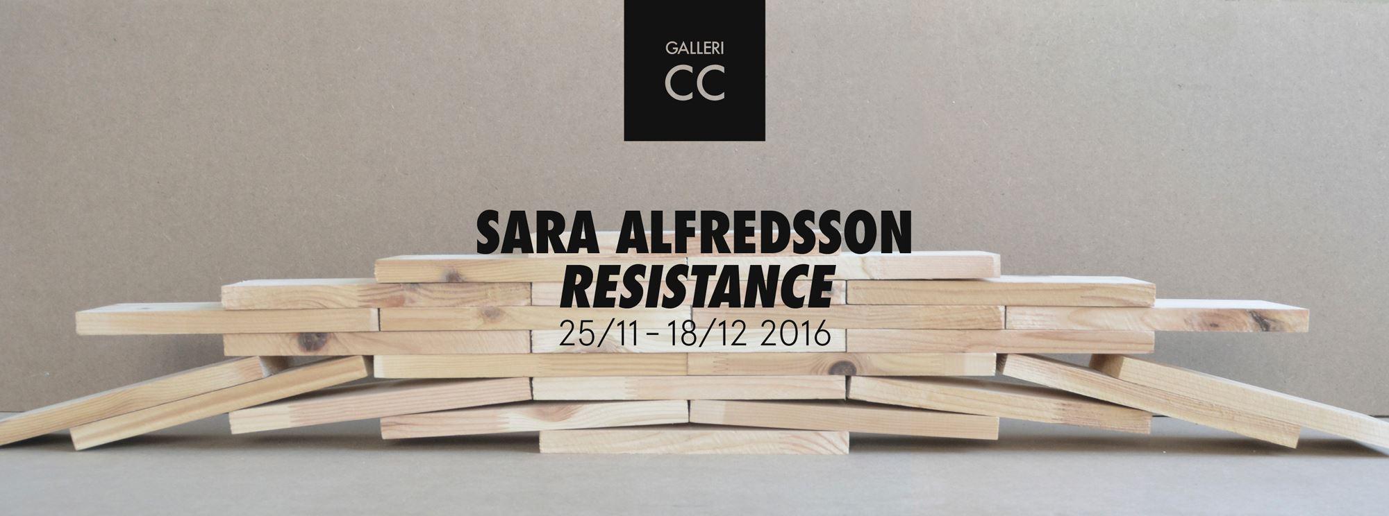 Sara Alfredsson - Resistans