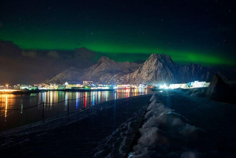 © The Arctic Triple, Lofoten Skimo-The Arctic Triple