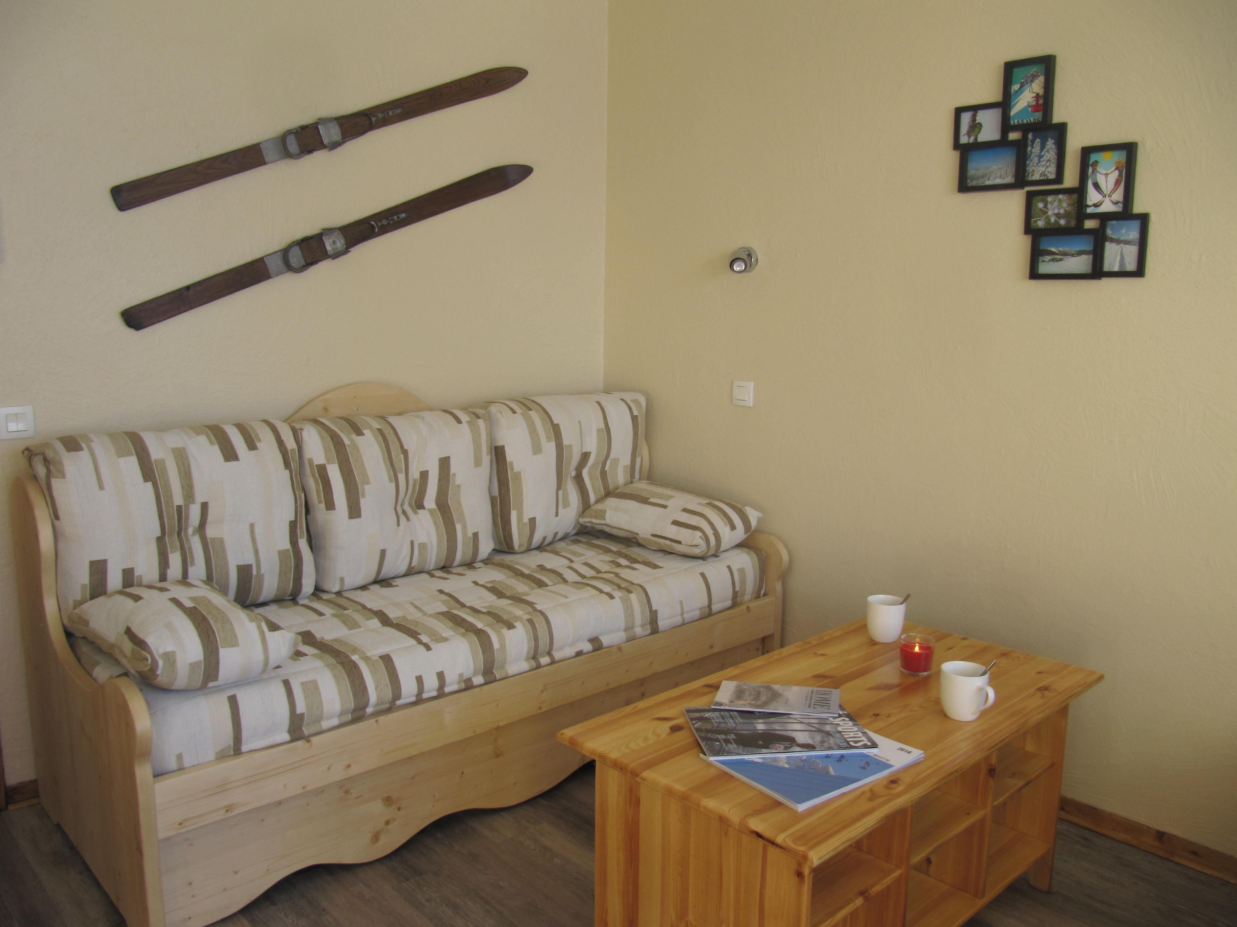Cuzco J13 > Studio + Cabin - 4 Persons - 2 Silver Snowflakes - (Ma Clé IMMO)