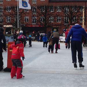 Susanne Nilsson,  © Susanne Nilsson, Trelleborgs kommun, Isormen- skating rink