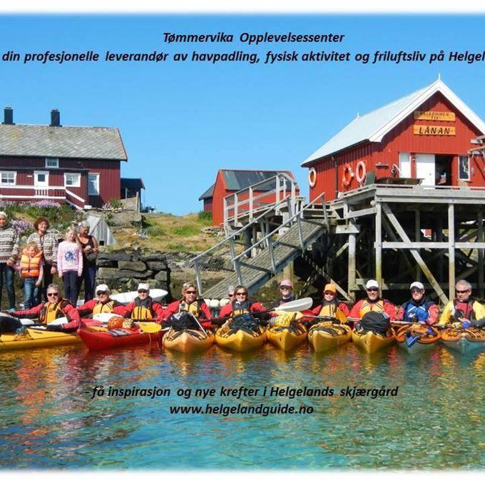 Grunnkurs Havpadling (16t) på Seløy v/Tømmervika Opplevelsessenter