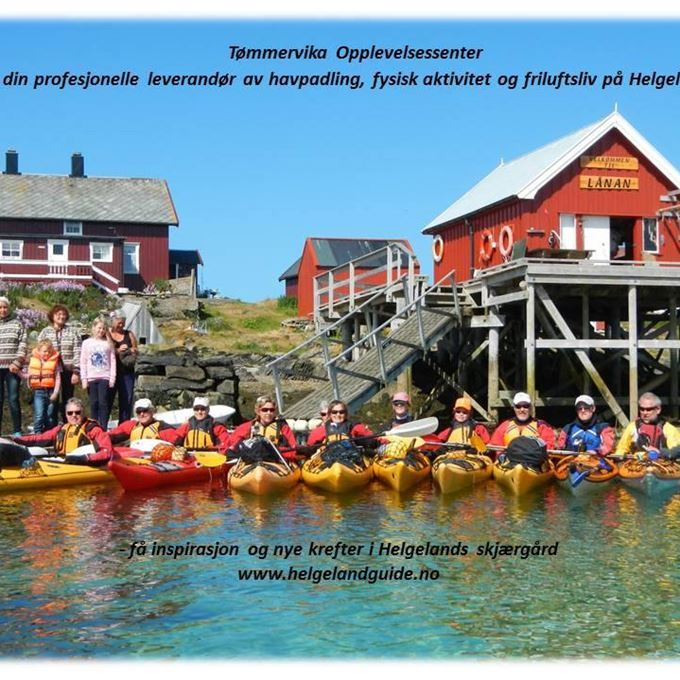© Tømmervika Opplevelsessenter, Grunnkurs Havpadling (16t) på Seløy v/Tømmervika Opplevelsessenter