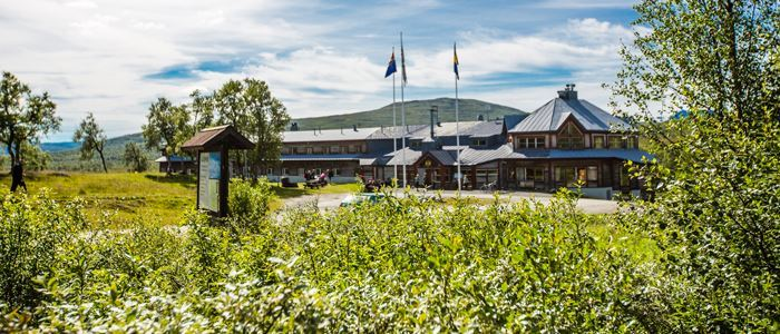 Storulvån, STF Mountain station