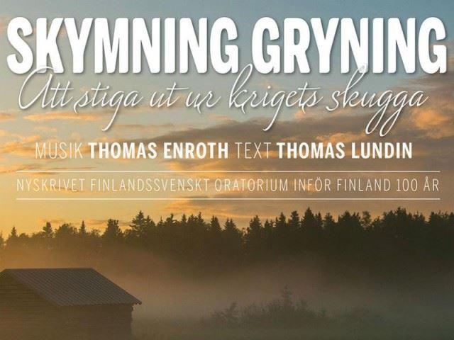 "Concert: Oratorium ""Skymning, gryning"""