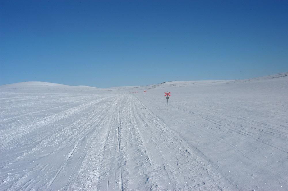 Skoterkartor norra Dalarna